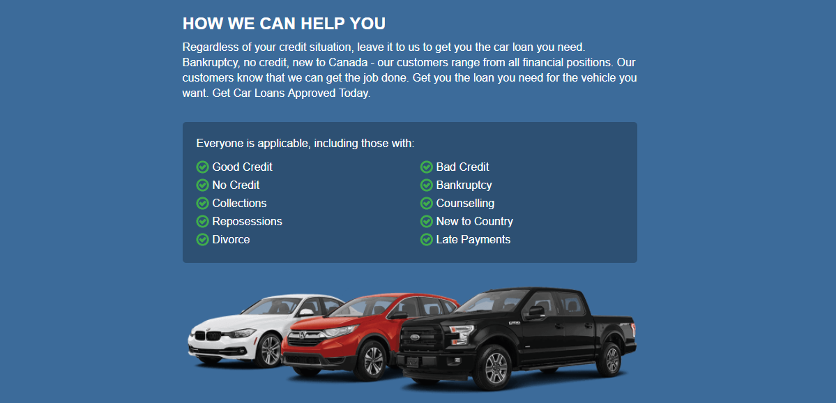 Can I Get New Car Loan With Bankruptcy